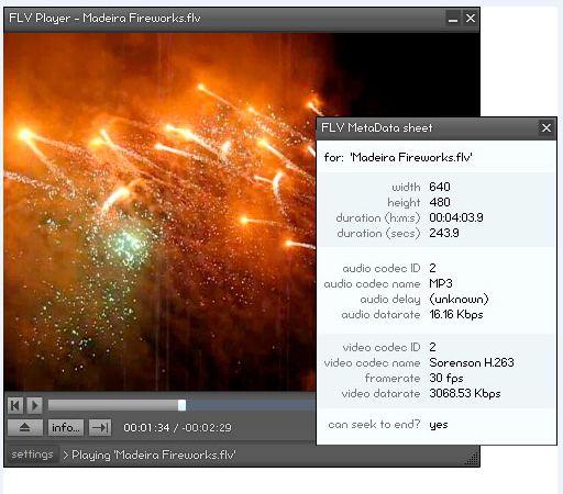 flvplayer دانلود نرم افزار پخش فرمت اف ال وی FLV Player 2.0.25