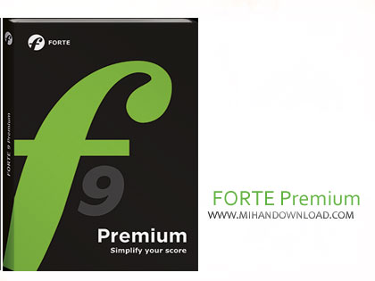 forte premium دانلود نرم افزار نت نویسی FORTE 9 Premium v9.03