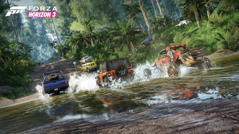 forza horizon3 wet دانلود بازی Forza Horizon 3 برای کامپیوتر + نقد و بررسی اختصاصی