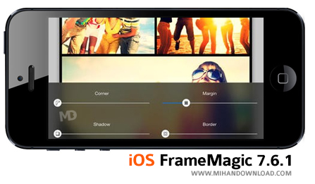 frame دانلود نرم افزار FrameMagic 7 برای آیفون