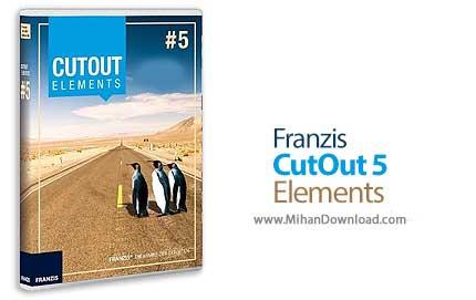 franzis cutout 5 elements دانلود Franzis CutOut 5 Elements نرم افزار حذف جزئیات اضافی از تصویر