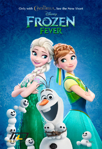 frozen fever دانلود انیمیشن کوتاه Frozen Fever 2015