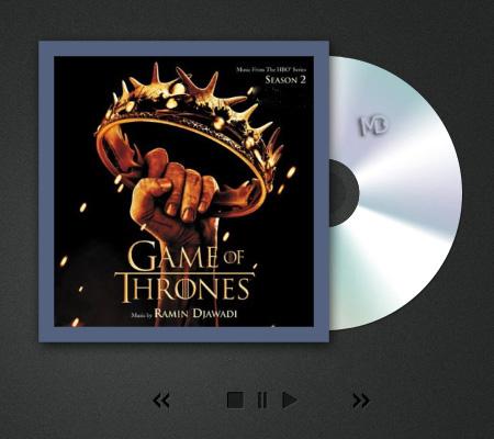 "game of thrones موسیقی متن فصل دوم سریال ""بازی تاج و تخت""   رامین جوادی"