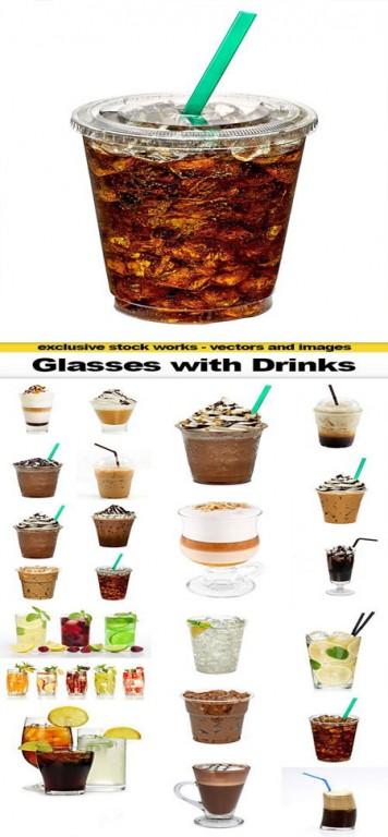 glasses.with .drinks.stck  356x768 دانلود تصاویر استاک غیر رایگان با موضوع نوشیدنی های مختلف