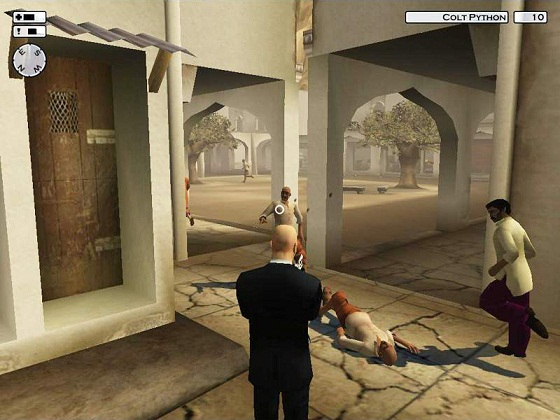 hitman2 03 pc دانلود سری کامل بازی های HITMAN برای کامپیوتر : Silent.Assassin