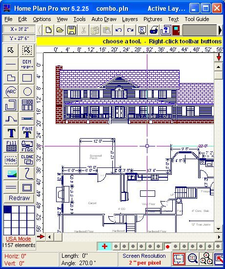 hppcombo دانلود Home Plan Pro 5 2 26 6 نرم افزار طراحی حرفه ای ساختمان