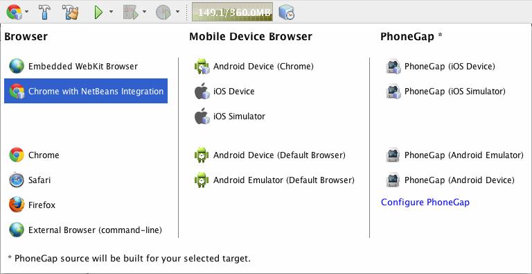 html5 phonegap big دانلود NetBeans IDE 7 4 Final نرم افزار برنامه نویسی جاوا