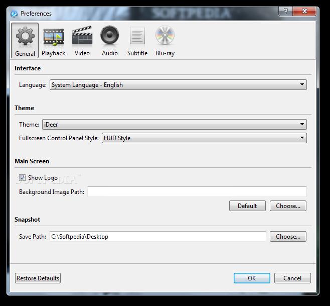 iDeer Blu ray Player 5 دانلود iDeer Blu ray Player 1 4 2 1421 نرم افزار پخش فیلم بلوری