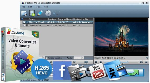 iFastime  دانلود iFastime Video Converter Ultimate 4.8.6.3 نرم افزار مبدل ویدیو