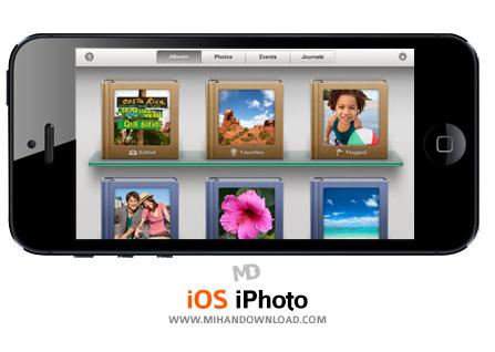 iPhoto نرم افزار گالری عکس iPhoto برای آیفون