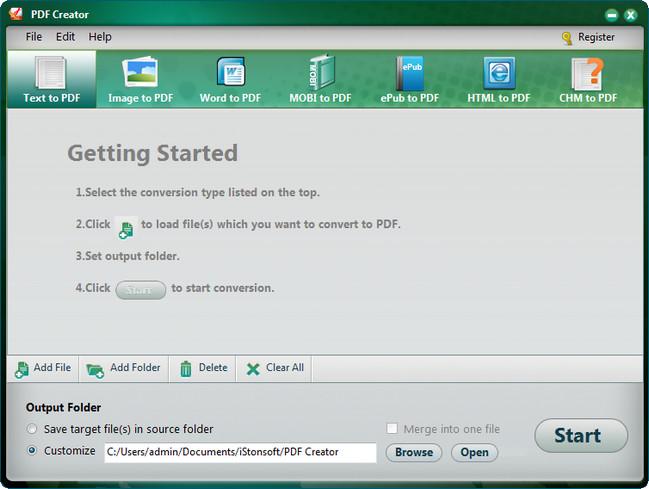 iPubsoft PDF Creator دانلود نرم افزار ایجاد فایل های پی دی اف