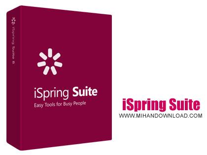 iSpring Suite دانلود نرم افزار ساخت یک ارائه حرفه ای در پاورپوینت iSpring Suite v9.0.0 Build 24868 x86/x64