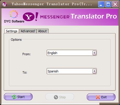 دانلود مترجم یاهو مسنجر