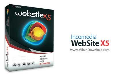 incomedia website x5 دانلود Incomedia WebSite X5 Professional نرم افزار طراحی وبسایت