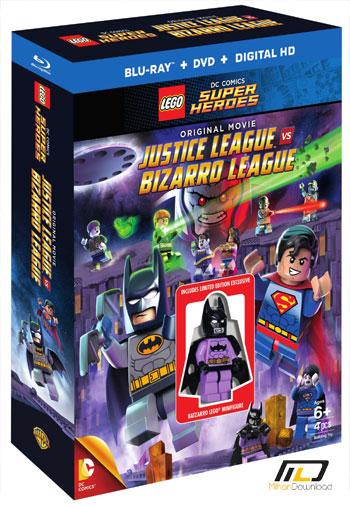 justice league vs bizarro l دانلود انیمیشن Lego DC Justice League vs Bizarro League 2015