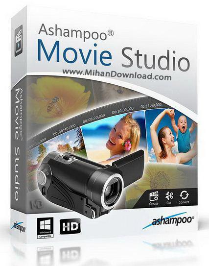 k دانلود Ashampoo Movie Studio 1.0.9.1 نرم افزار ویرایش ویدئو