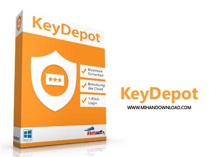 keydepot دانلود نرم افزار مدیریت کلمه های عبور Abelssoft KeyDepot 2018 v5.4