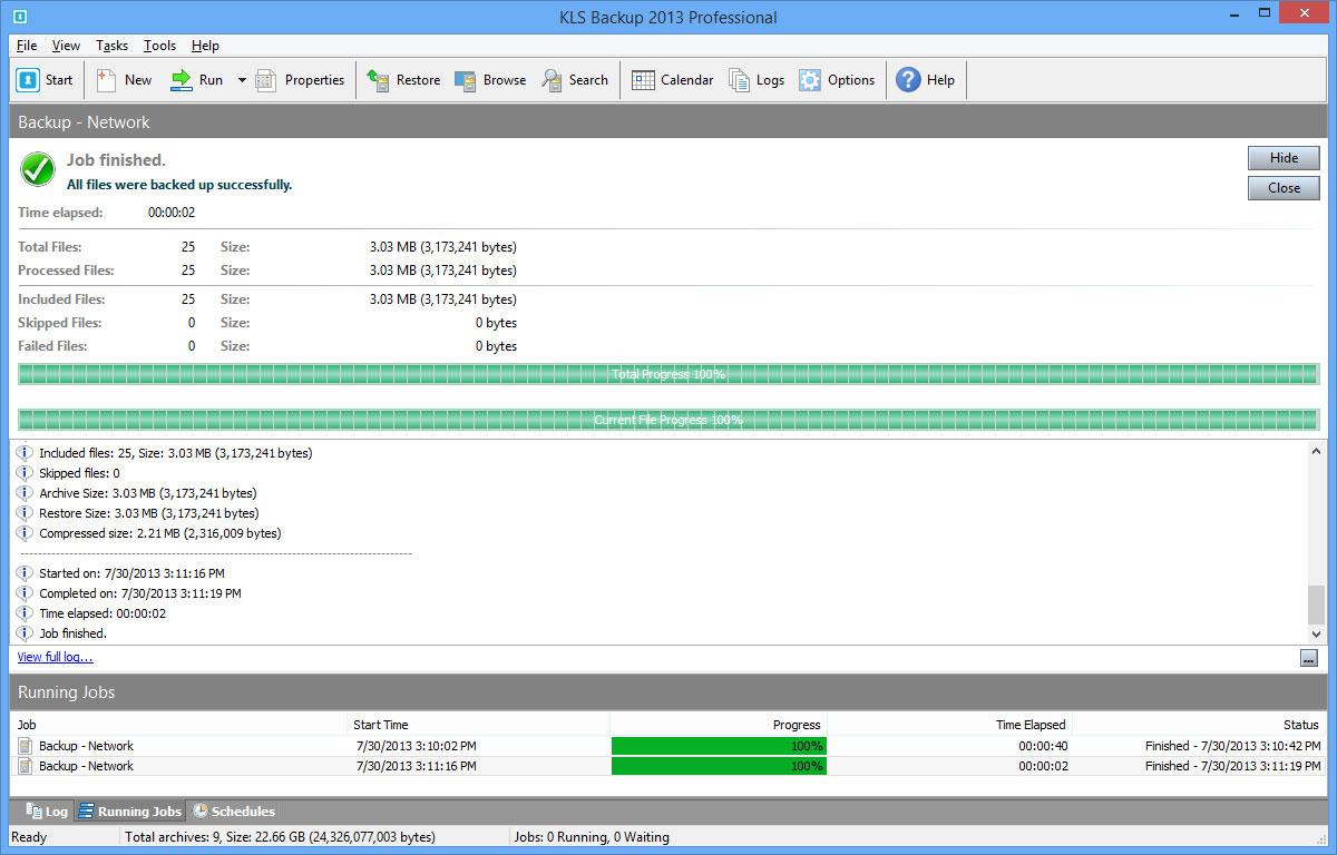 klsbmain2 دانلود KLS Backup 2013 Professional 7 0 1 2 نرم افزار بکاپ گیری از اطلاعات
