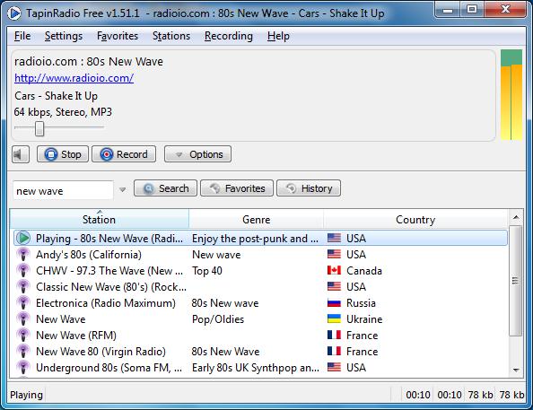 largeImg دانلود TapinRadio Pro 2.03 نرم افزار گوش دادن به رادیو