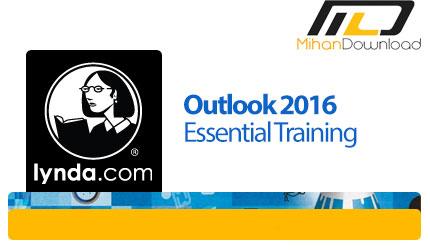 lynda outlook 2016 essential training دانلود فیلم دیدنی و جذاب آموزش OutLook 2016، نرم افزار مدیریت اکانت های ایمیل