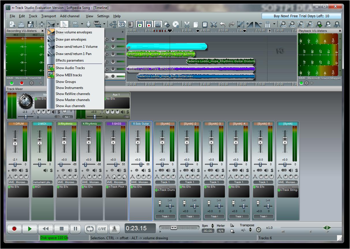 n Track Studio Screenshots6 دانلود n Track Studio 7 0 3 Build 3108 Final نرم افزار ضبط و ویرایش موزیک
