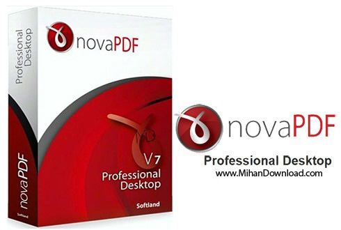 novaPDF Professional دانلود novaPDF Professional Desktop 7 7 Build 394 نرم افزار ویرایش  فایل های PDF
