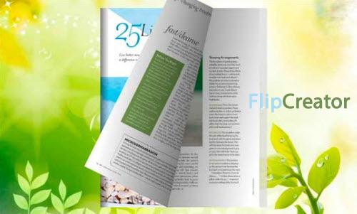 page flipping ebook magazine1 دانلود نرم افزار تبدیل تصاویر و فایل های پی دی اف به مجلات مالتی مدیا FlipCreator Global v4 6 2 5
