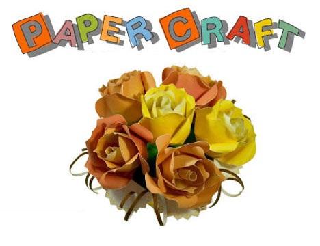 paperflowe دانلود کتاب آموزش ساخت گل های کاغذی