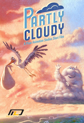 partly cloudy دانلود انیمیشن کوتاه Partly Cloudy 2009