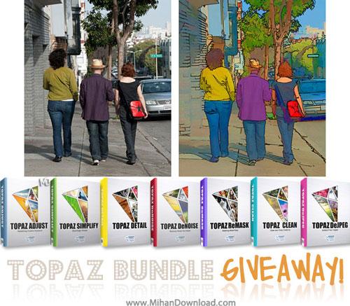 pluging mihandownload دانلود مجموعه ی کامل پلاگین های فتوشاپ توپاز Topaz Photoshop Plugins Bundle 2014