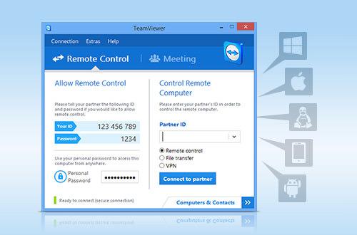 remotecontrol دانلود نرم افزار تیم ویورر TeamViewer Corporate 11.0.59131