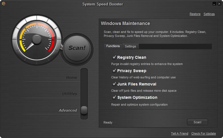 screenshot 11 نرم افزار بهینه ساز System Speed Booster 3 0 8 2
