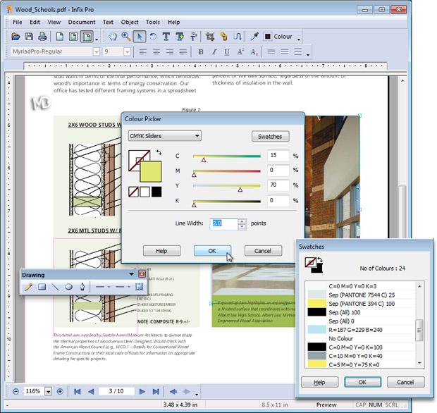 screenshot Infix PDF Editor Pro1 دانلود Infix PDF Editor Pro 6 23 نرم افزار ویرایش فایل های PDF