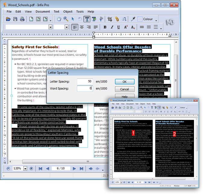 screenshot Infix PDF Editor Pro2 دانلود Infix PDF Editor Pro 6 23 نرم افزار ویرایش فایل های PDF