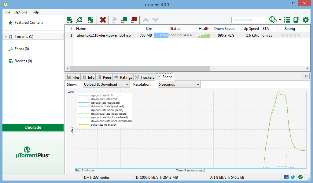 screenshot.%C2%B5Torrent 2 نرم افزار دانلود از تورنت µTorrent Stable 3 4 1 build 31395