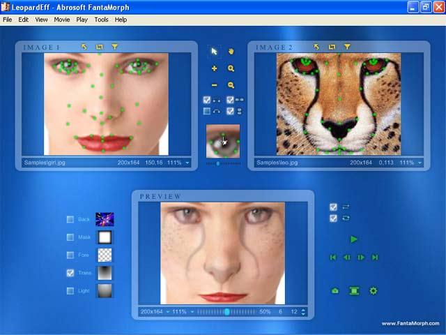screenshot.Abrosoft.FantaMorph.Deluxe 1 نرم افزار تغییر چهره افراد Abrosoft FantaMorph Deluxe 5 4 4