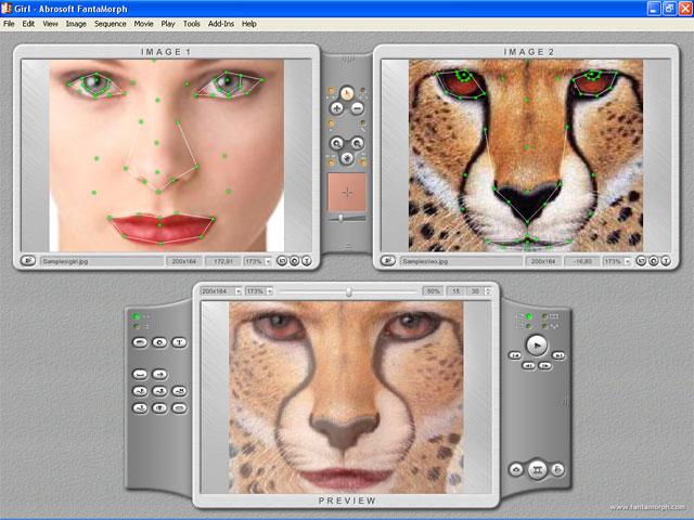 screenshot.Abrosoft.FantaMorph.Deluxe 4 نرم افزار تغییر چهره افراد Abrosoft FantaMorph Deluxe 5 4 4