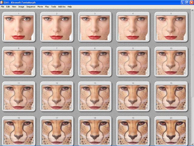 screenshot.Abrosoft.FantaMorph.Deluxe 6 نرم افزار تغییر چهره افراد Abrosoft FantaMorph Deluxe 5 4 4