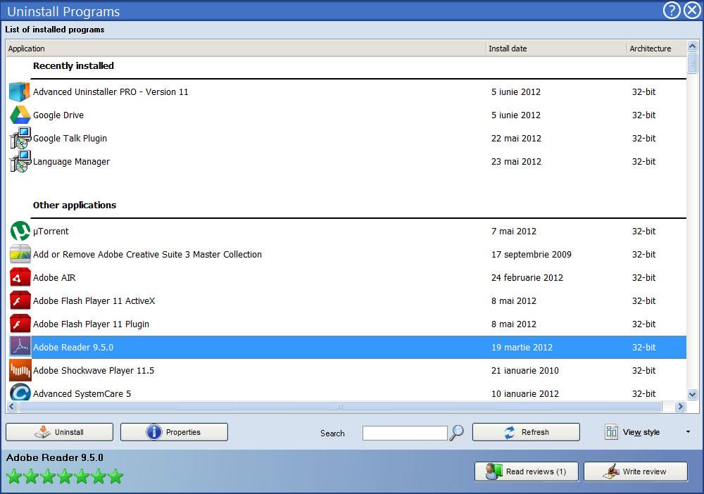 screenshot.Advanced Uninstaller PRO 5 دانلود Advanced Uninstaller PRO 11.43 نرم افزار حذف کامل برنامه نصب شده