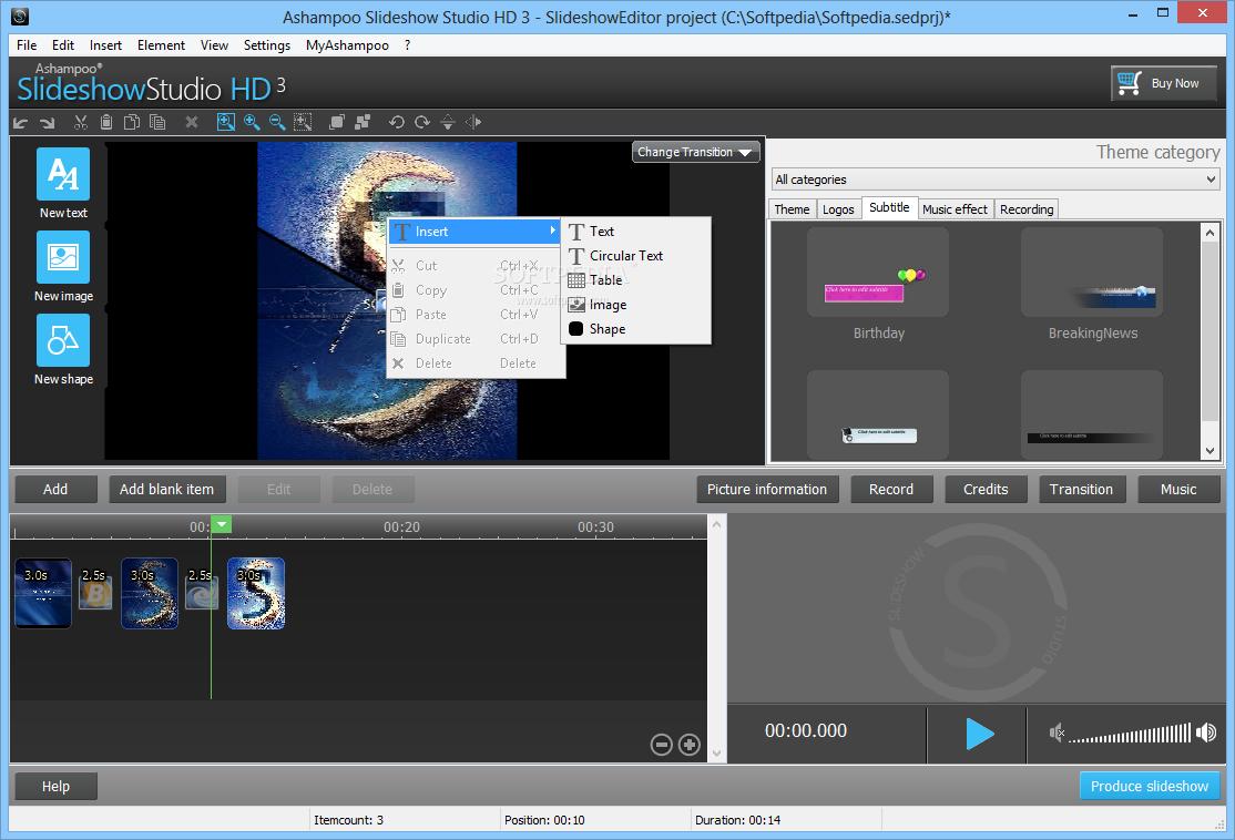 screenshot.Ashampoo.Slideshow.Studio.HD  دانلود نرم افزار ساخت اسلایدشو Ashampoo Slideshow Studio HD 4.0.4