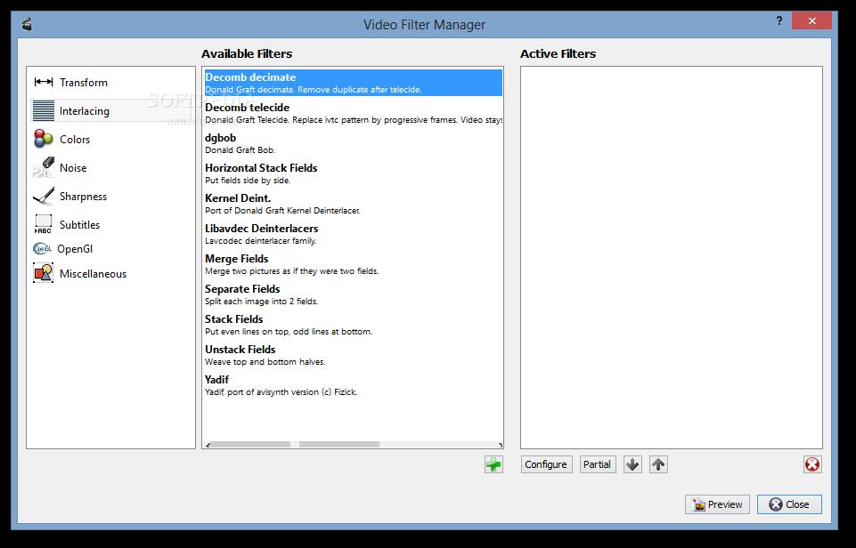 screenshot.AviDemux.1 نرم افزار ویرایش فایلهای ویدئویی AviDemux 2 6 8 9046
