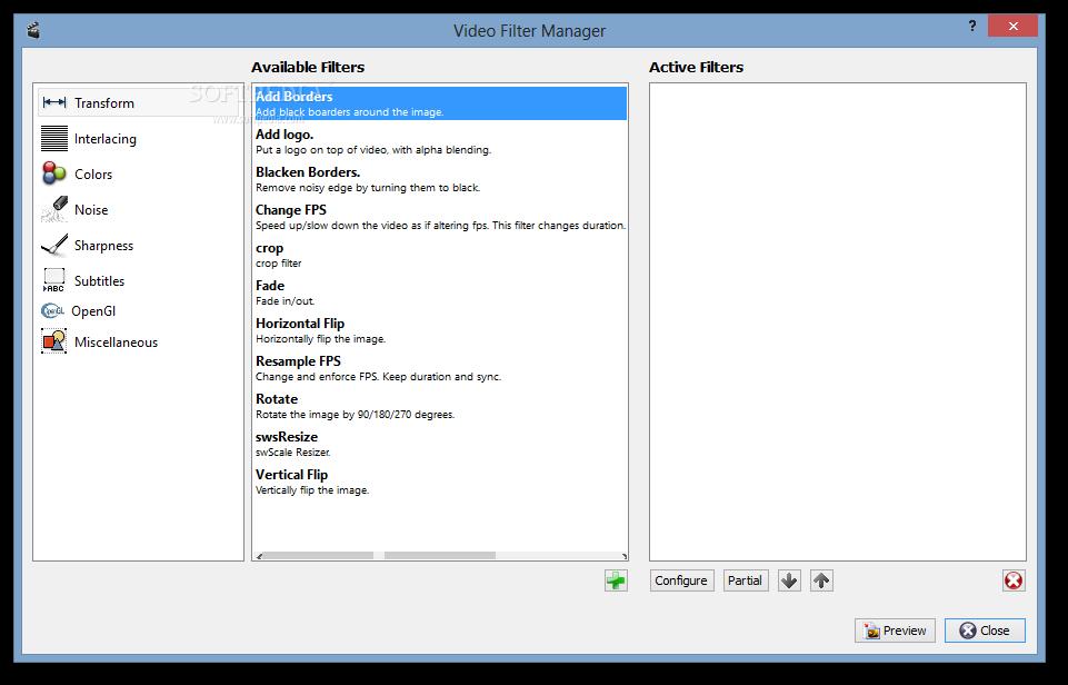 screenshot.AviDemux.2 نرم افزار ویرایش فایلهای ویدئویی AviDemux 2 6 8 9046