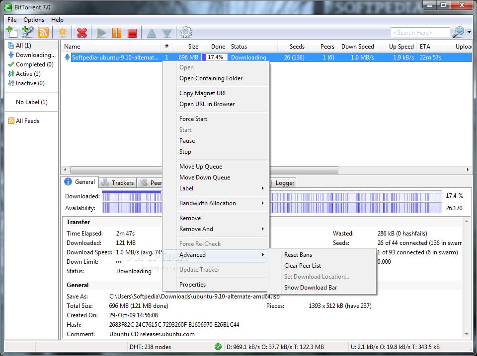 screenshot.BitTorrent 1 دانلود BitTorrent Pro 7.9.9 Build 43364 Final نرم افزار دانلود از تورنت