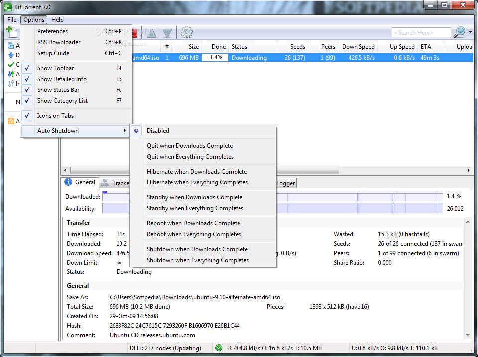 screenshot.BitTorrent 2 دانلود BitTorrent Pro 7.9.9 Build 43364 Final نرم افزار دانلود از تورنت