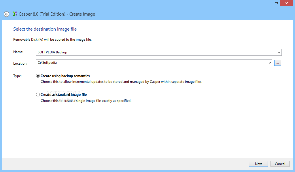 screenshot.Casper 1 نرم افزار پشتیبان گیری Casper / Secure Drive Backup 8 0 4422 / 4 0 4422 Retail