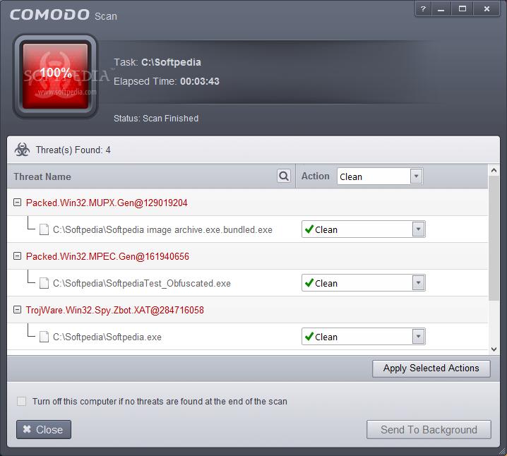 screenshot.Comodo.Antivirus 1 دانلود نرم افزار آنتی ویروس Comodo Antivirus 8.4.0.5068