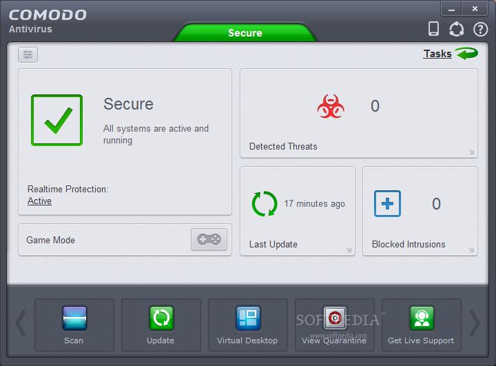 screenshot.Comodo.Antivirus 2 دانلود نرم افزار آنتی ویروس Comodo Antivirus 8.4.0.5068