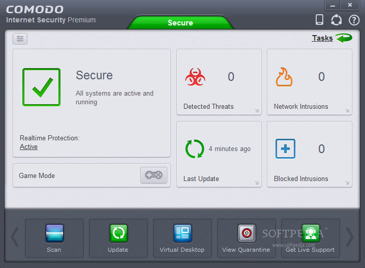screenshot.Comodo.Internet.Security 1 دانلود بسته کامل امنیتی Comodo Internet Security Premium 8.2.0.5005