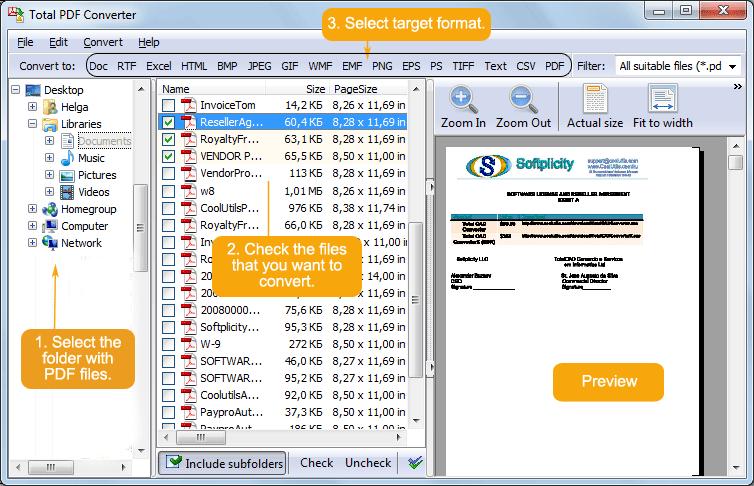 screenshot.Coolutils Total PDF Converter 1 نرم افزار تبدیل فرمت فایل های پی دی اف Coolutils Total PDF Converter 2 1 266