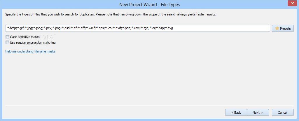 screenshot.Duplicate.File .Detective 3 نرم افزار حذف فایل های تکراری Duplicate File Detective 5 0 74